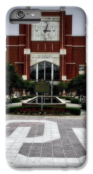 Oklahoma Memorial Stadium IPhone 6 Plus Case by Center For Teaching Excellence