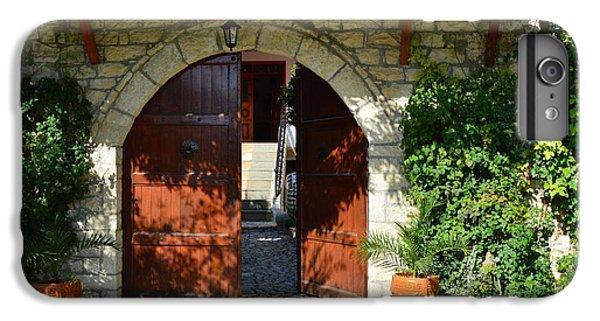 iPhone 6 Plus Case - Old House Door by Nuri Osmani