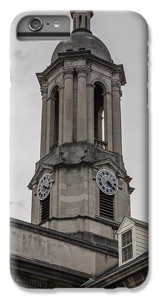 Old Main Penn State Clock  IPhone 6 Plus Case by John McGraw