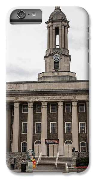 Penn State University iPhone 6 Plus Case - Old Main Penn State From Front  by John McGraw