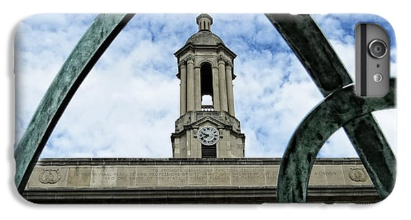 Penn State University iPhone 6 Plus Case - Old Main Thru The Turtle by Dawn Gari
