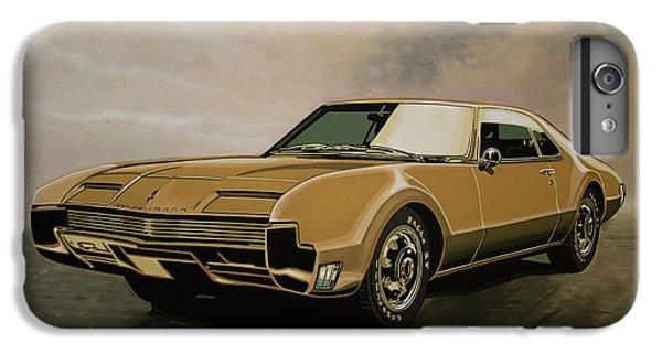 Falcon iPhone 6 Plus Case - Oldsmobile Toronado 1965 Painting by Paul Meijering