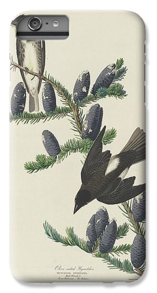 Flycatcher iPhone 6 Plus Case - Olive-sided Flycatcher by Dreyer Wildlife Print Collections
