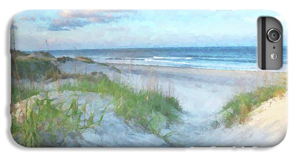 On The Beach Watercolor IPhone 6 Plus Case