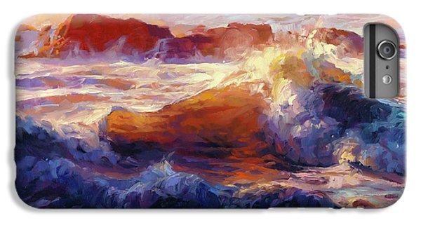 Pacific Ocean iPhone 6 Plus Case - Opalescent Sea by Steve Henderson