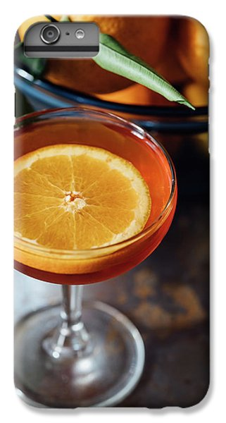 Orange Cocktail IPhone 6 Plus Case by Happy Home Artistry