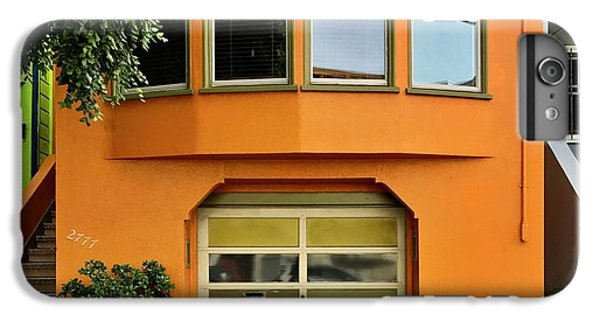 Orange House IPhone 6 Plus Case by Julie Gebhardt