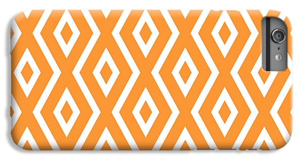 Fruit iPhone 6 Plus Case - Peach Pattern by Christina Rollo