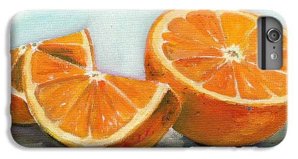 Fruit iPhone 6 Plus Case - Orange by Sarah Lynch
