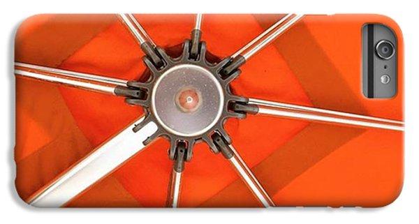Orange iPhone 6 Plus Case - Orange Umbrella #photography by Juan Silva
