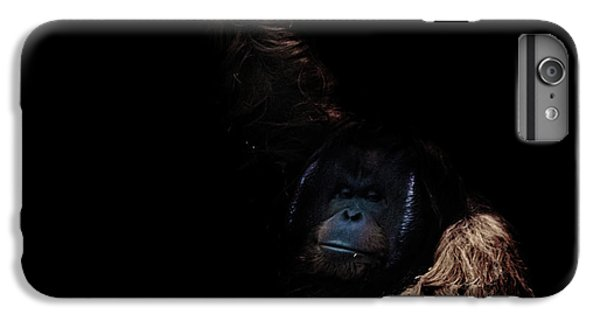 Orangutan IPhone 6 Plus Case by Martin Newman