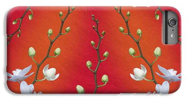 Orchid iPhone 6 Plus Case - Orchid Ensemble by Tom Mc Nemar