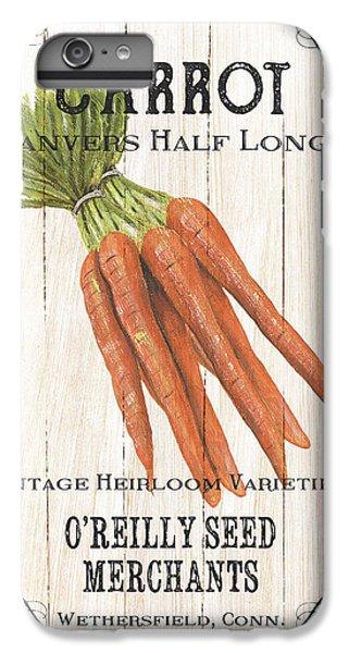 Organic Seed Packet 2 IPhone 6 Plus Case by Debbie DeWitt