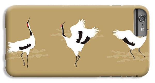 Oriental Cranes IPhone 6 Plus Case