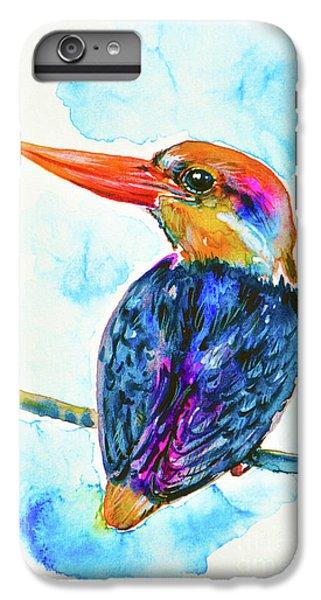 Oriental Dwarf Kingfisher IPhone 6 Plus Case by Zaira Dzhaubaeva
