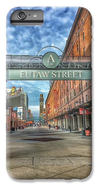 Oriole iPhone 6 Plus Case - Oriole Park At Camden Yards - Eutaw Street Gate by Marianna Mills