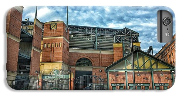 Oriole iPhone 6 Plus Case - Oriole Park At Camden Yards Gate by Marianna Mills