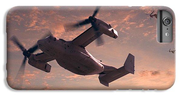 Ospreys In Flight IPhone 6 Plus Case by Mike McGlothlen
