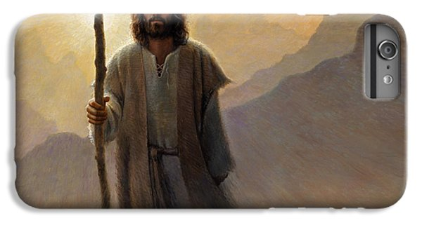 Christ iPhone 6 Plus Case - Out Of The Wilderness by Greg Olsen