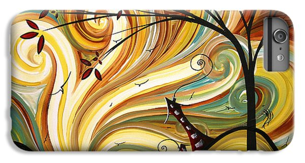 Landscape iPhone 6 Plus Case - Out West Original Madart Painting by Megan Duncanson