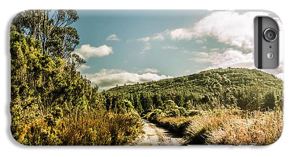 Nature Trail iPhone 6 Plus Case - Outback Country Road Panorama by Jorgo Photography - Wall Art Gallery
