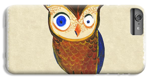 Owl iPhone 6 Plus Case - Owl by Kristina Vardazaryan