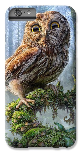 Owl Perch IPhone 6 Plus Case by Phil Jaeger