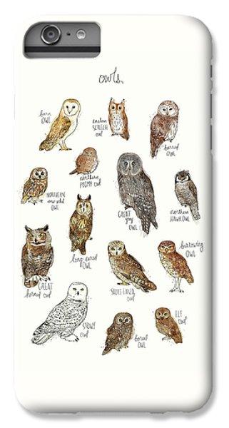 Elf iPhone 6 Plus Case - Owls by Amy Hamilton