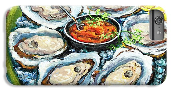 Oysters On The Half Shell IPhone 6 Plus Case by Dianne Parks