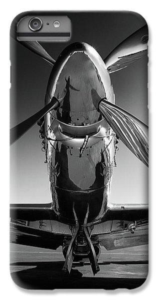 White iPhone 6 Plus Case - P-51 Mustang by John Hamlon