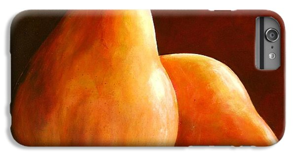 Pair Of Pears IPhone 6 Plus Case by Toni Grote