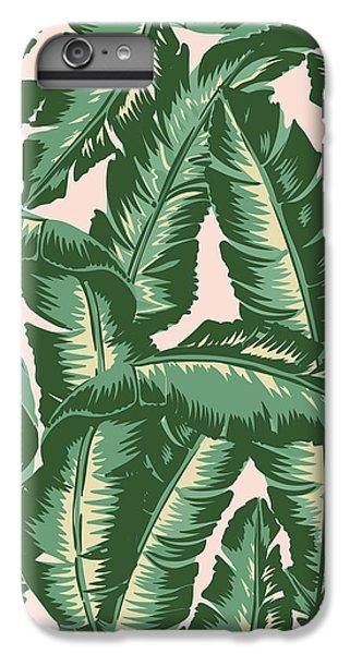 Palm Print IPhone 6 Plus Case by Lauren Amelia Hughes