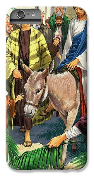 Palm Sunday IPhone 6 Plus Case by Clive Uptton