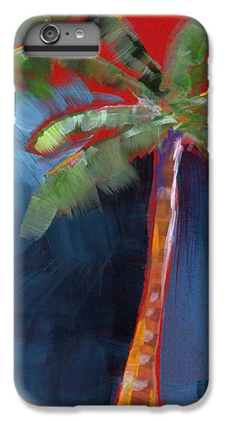 Palm Tree- Art By Linda Woods IPhone 6 Plus Case by Linda Woods