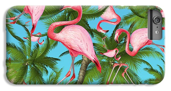Beautiful iPhone 6 Plus Case - Palm Tree by Mark Ashkenazi