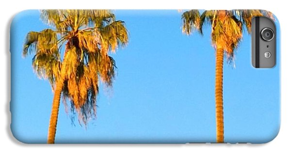 #palm #trees At Sunset. #california IPhone 6 Plus Case