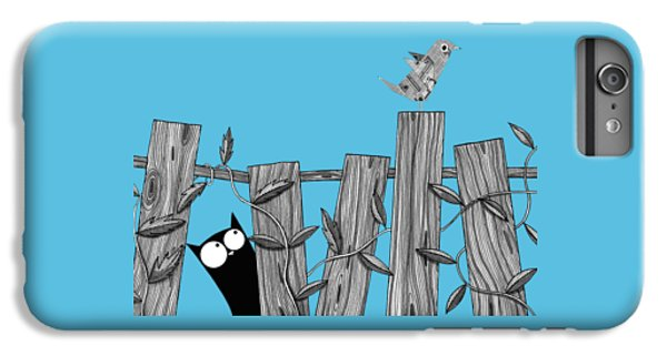 Cats iPhone 6 Plus Case - Paper Bird by Andrew Hitchen