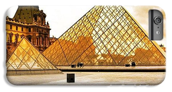 Bestoftheday iPhone 6 Plus Case - Paris - Louvre by Luisa Azzolini