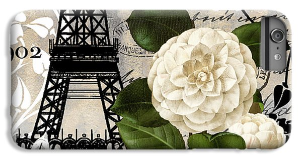 Paris Blanc I IPhone 6 Plus Case by Mindy Sommers