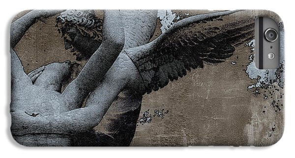Paris Eros And Psyche - Surreal Romantic Angel Louvre   - Eros And Psyche - Cupid And Psyche IPhone 6 Plus Case by Kathy Fornal