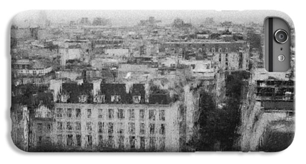 Paris In The Rain  IPhone 6 Plus Case by Dubi Roman