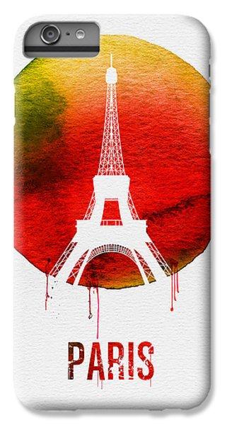 Paris Landmark Red IPhone 6 Plus Case