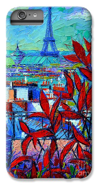 Paris Rooftops - View From Printemps Terrace   IPhone 6 Plus Case