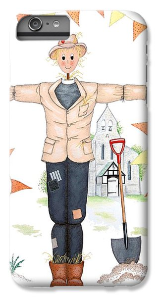 Parson Scarecrow IPhone 6 Plus Case by Sandra Moore