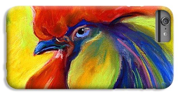 Pastel Rooster By Svetlana Novikova ( IPhone 6 Plus Case