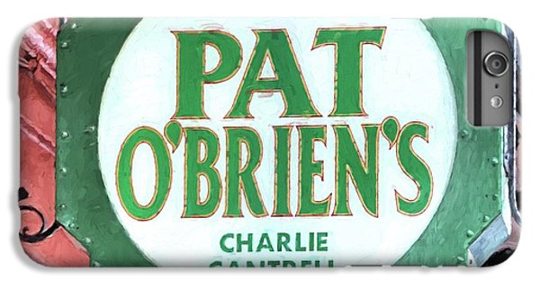 IPhone 6 Plus Case featuring the photograph Pat Obriens by JC Findley