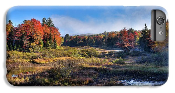 IPhone 6 Plus Case featuring the photograph Patches Of Fog At The Green Bridge by David Patterson