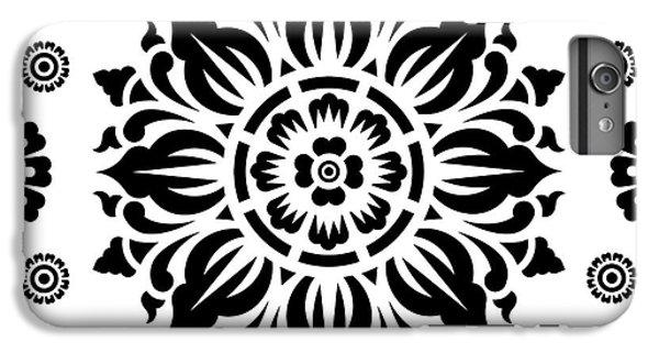 Pattern Art 01-2 IPhone 6 Plus Case by Bobbi Freelance