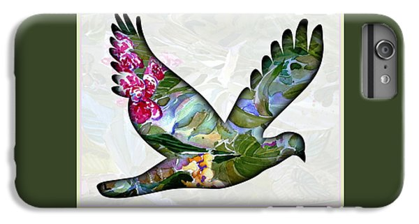 Dove iPhone 6 Plus Case - Peace For Peace by Mindy Newman