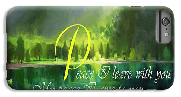 Christ iPhone 6 Plus Case - Peace I Give You by Steve Henderson